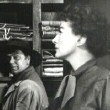 1954. 'Johnny Guitar.' With Scott Brady, left, and Ernest Borgnine.