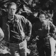 A smoke break with Sterling Hayden.