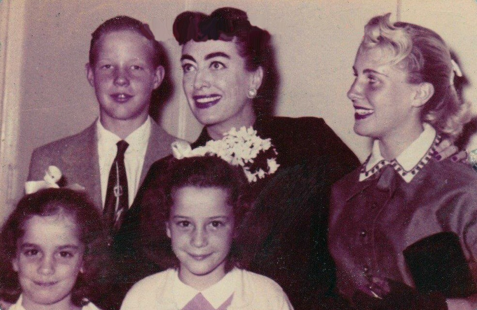 November 1954, with Christopher, Christina, and the Twins.