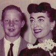 November 1954. With Chris, Christina, and the Twins.