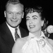 October 1954. At the premiere of 'White Christmas.'