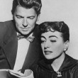 With Ronald Reagan, host of GE Theater's 'Road to Edinburgh.' (Thanks to Bryan Johnson.)