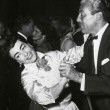At the 9/29/54  'A Star Is Born' after-party with Cesar Romero at the Cocoanut Grove.