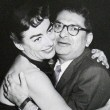 1954. With columnist Sidney Skolsky.