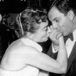 At an unknown premiere, with Danny Thomas.