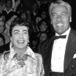 At the 9/29/54 'Star is Born' premiere, with Marie Wilson and Cesar Romero.