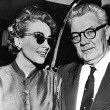 May 10, 1955. Joan and Al at the Los Angeles airport, on the way to Las Vegas to be married.