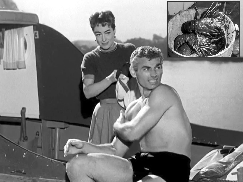 1955. 'Female on the Beach' with Jeff Chandler.