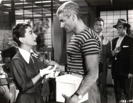 1955. 'Female on the Beach' with Jeff Chandler. (Thanks to Stephen.)