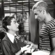 With Jeff Chandler. (Thanks to Stephen.)