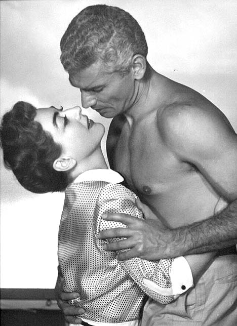 With Jeff Chandler.