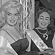 December 1955. At a NYC Actors' Studio benefit with Jayne Mansfield and Hope Hampton. Click this link to see 3 photos.