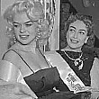 December 1955. Joan with Jayne Mansfield and Hope Hampton at a NYC benefit for the Actors' Studio. Click this link to see 3 photos.