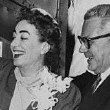 May 11, 1955. Newlyweds arrive in Los Angeles.