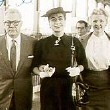 May 26, 1955. On the SS United States, with Al and Evelyn Echols. (Thanks to Susanne.)