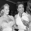 October 1955 at Los Angeles Ice Follies with Christina. Three candids.