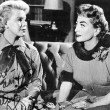 With Betsy Palmer in 'Queen Bee.'