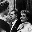 October 29, 1956. Joan being presented to Queen Elizabeth II.