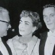 10/29/56. With Al Steele and Peter Finch. (Thanks to Susanne.)