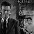1956. Screen shot from 'Autumn Leaves' with Cliff Robertson.