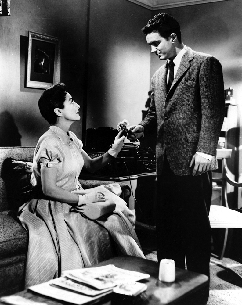 1956. 'Autumn Leaves.' With Cliff Robertson.