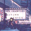 1956. 'Autumn Leaves' in Times Square.