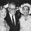 July 1956. Helen Hayes, Big Al, Joan, James MacArthur.