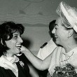 August 1957. In Naples with Anna Magnani. (Thanks to Susanne.)