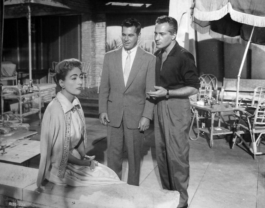1957. 'The Story of Esther Costello' with Ron Randell and Rossano Brazzi.