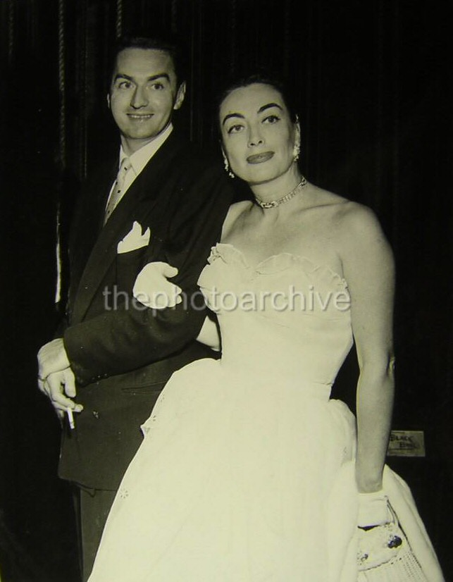 1952. With Michael Sean O'Shea, American Theatre Wing exec (and recipient of money in Joan's will).