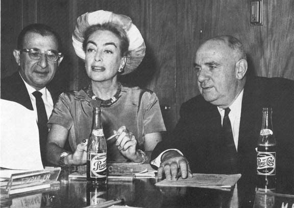 May 7, 1959. A Pepsi board meeting, with Herb Barnett and Emmett O'Connell.