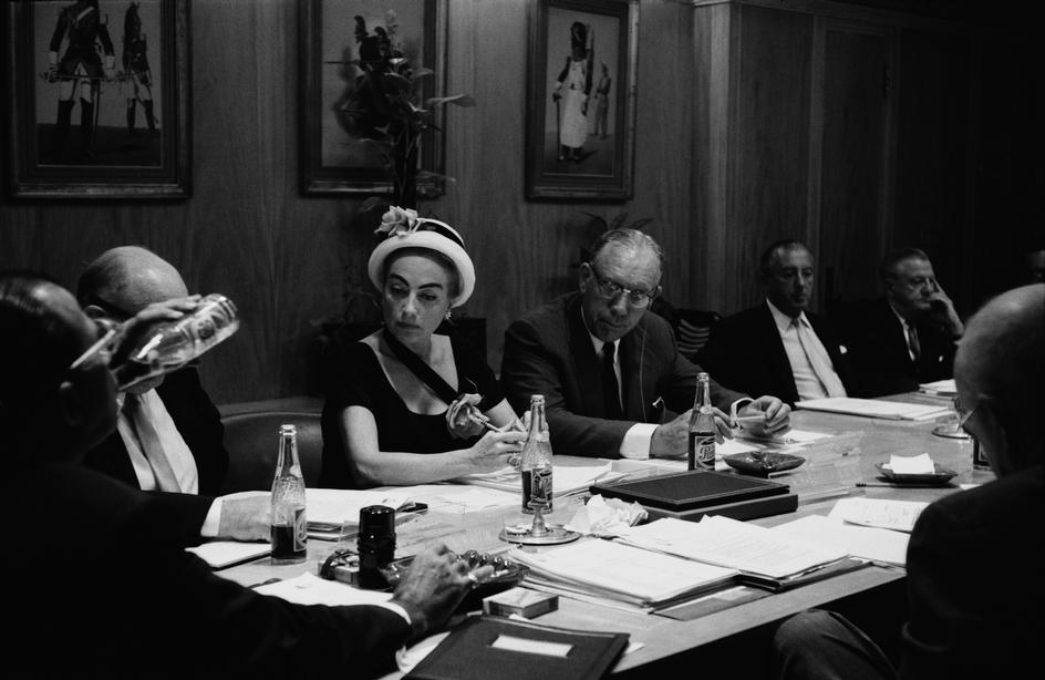 1959. A Pepsi board meeting in Los Angeles. Photo by Eve Arnold.