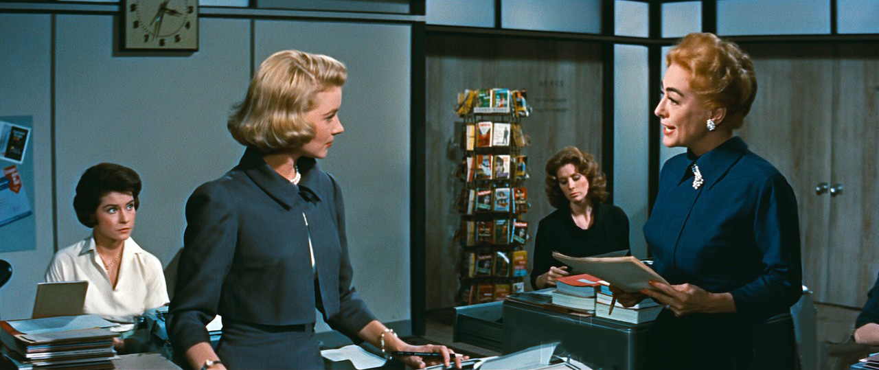1959. 'The Best of Everything.' With Diane Baker, Hope Lange, and Suzy Parker.