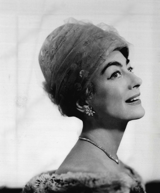 1960 publicity released upon her receipt of the 'Golden Hat Award.'