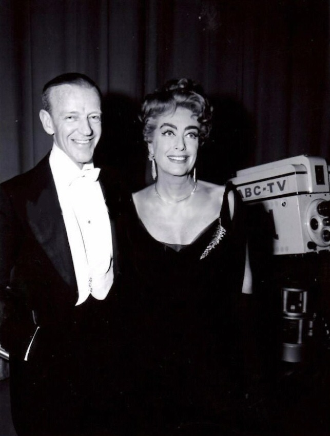 At the April 1962 Academy Awards with Fred Astaire.