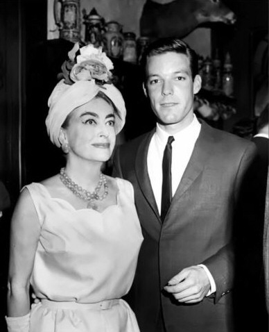 Circa 1961, with Richard Chamberlain.