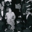 1969. With crowd at the Governors Ball at the Beverly Hilton.