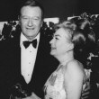At the 2/3/70 Golden Globes with John Wayne.