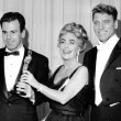 April 9, 1962. With Greer Garson, Maximilian Schell, and Burt Lancaster.