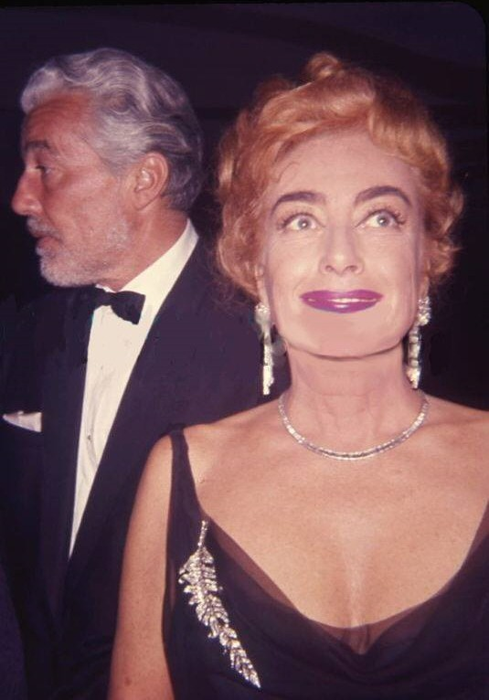 At the 4/9/62 Oscars with Cesar Romero.