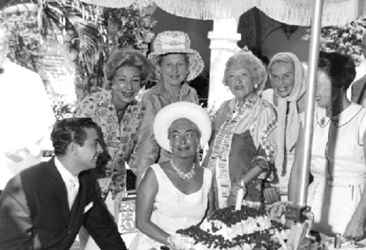 1961 birthday celebration for Joan.