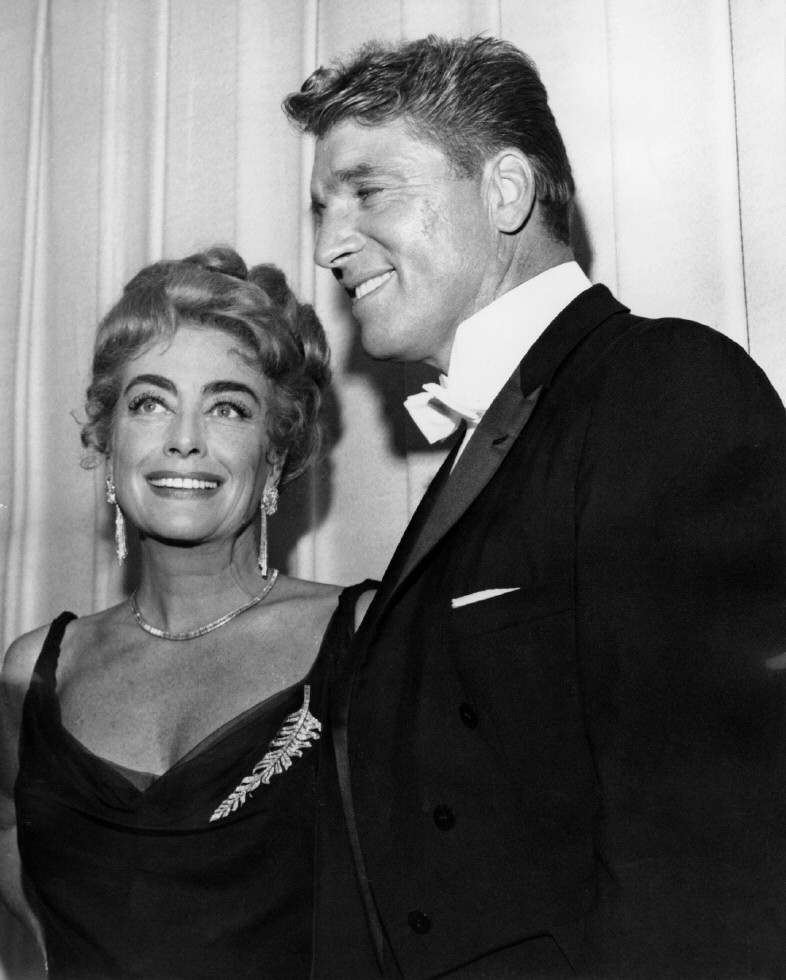 4/9/62. At the Oscars with Burt Lancaster.