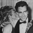 4/9/62. At the Oscars with Best Actor Maximilian Schell.