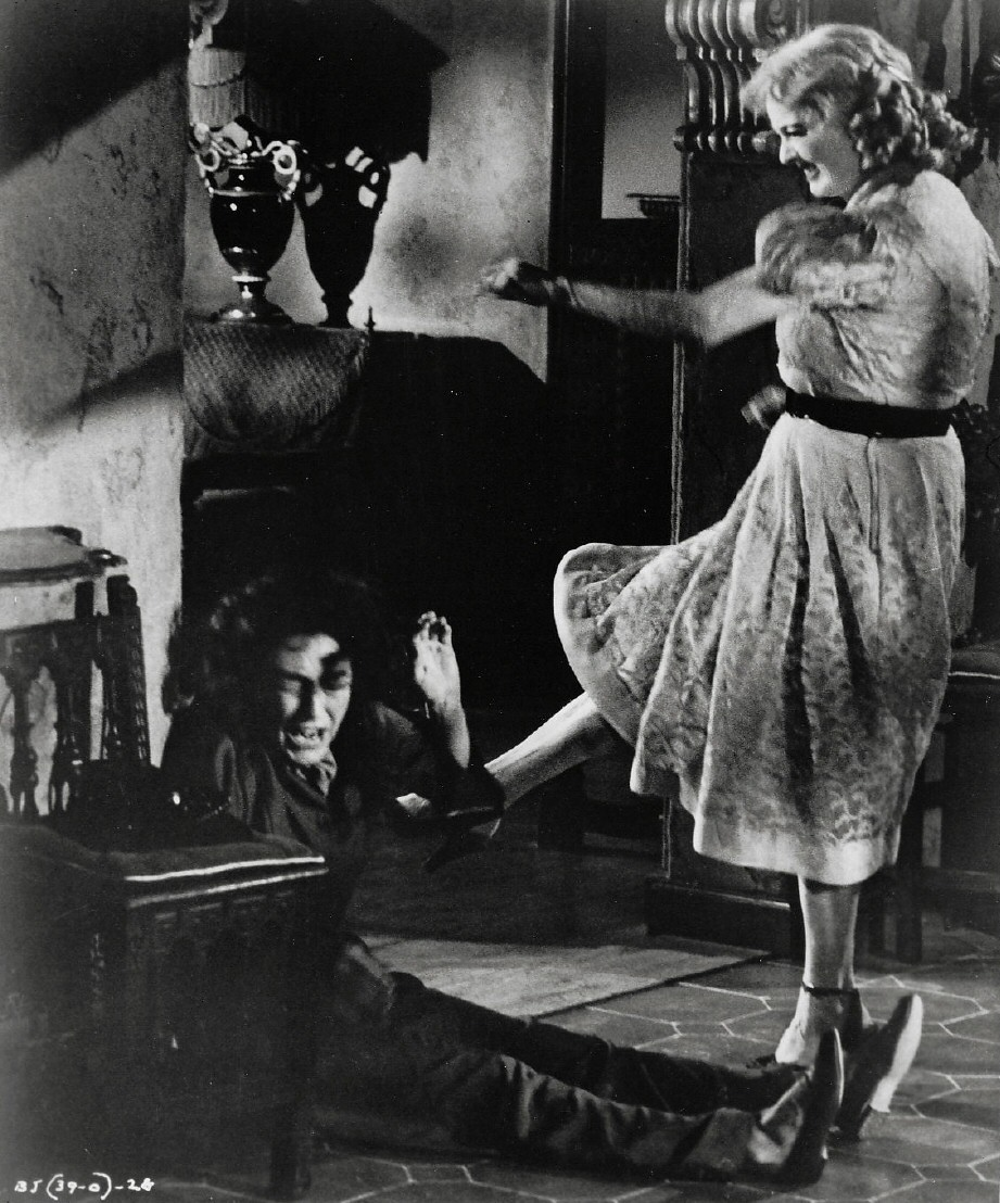 1962. 'What Ever Happened to Baby Jane?' With Bette Davis.