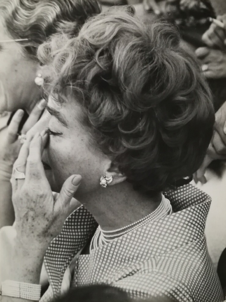May 1962. At a bullfight in Alcobendas, Spain. (Thanks to Julian K.)