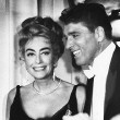 April 9, 1962. At the Oscars with Burt Lancaster.