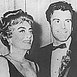 April 9, 1962. At the Oscars with Maximilian Schell.