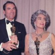At the 4/8/63 Oscars with Gregory Peck.