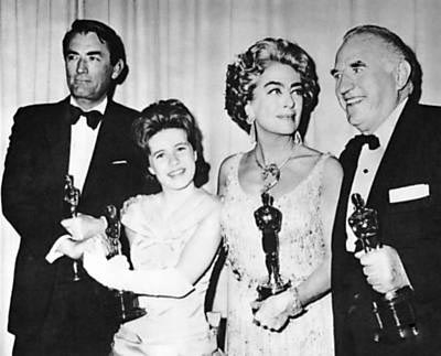 April 1963 Academy Awards. (Thanks to Bryan Johnson.)