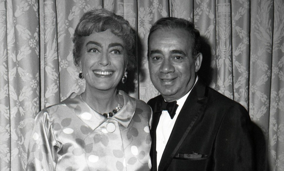 1963 with comedian Gene Baylos.